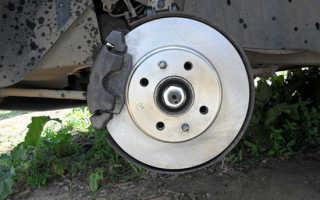Как заменить передние тормозные диски на ВАЗ 2114