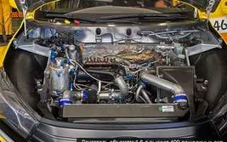 Lada Vesta WTCC: технические характеристики