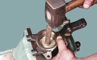 ВАЗ 2108: подшипник ступицы и его замена