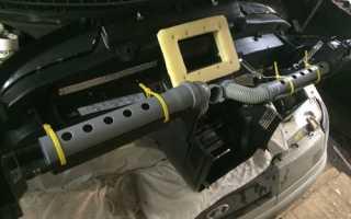 Доработка (модернизация) печки ВАЗ 2110 своими руками