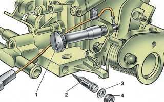 Регулировка и особенности карбюратора ВАЗ 2108