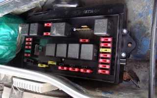 ВАЗ 2114: Схема и расположение блока предохранителей