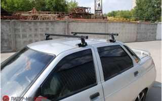 Багажник на крышу ВАЗ 2110: это просто