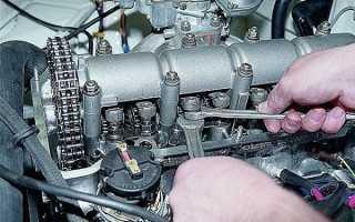 Порядок регулировки клапанов на ВАЗ 2106