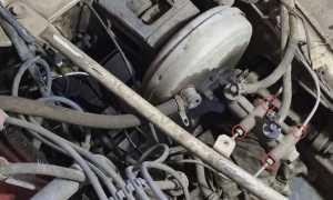 Замена главного тормозного цилиндра и прокачка тормозов на Ниве 4х4. Фото