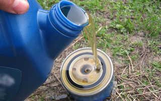 Замена масла в двигателе на Лада Гранта с АКПП своими руками