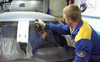 Замена лобового стекла ВАЗ 2110: своими руками
