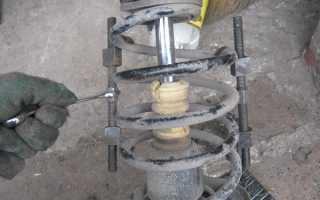 ВАЗ 2110: Замена пружин подвески своими руками