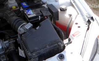 Замена охлаждающей жидкости (антифриза) на Ладе Гранта