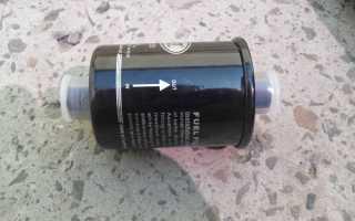 Замена топливного фильтра ВАЗ 2110 своими силами