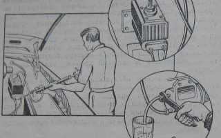 ВАЗ 2106: прокачка гидропривода сцепления — инструкция