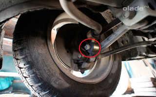 Замена стоек стабилизатора передней подвески на Ладе Гранта. Фото