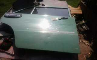 Подготовка к покраске на примере двери ВАЗ 2106