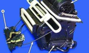Особенности работы и ремонта печки ВАЗ 2108