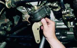 ВАЗ 2110: замена подушек двигателя своими руками