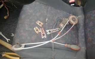 Установка электростеклоподъёмника в водительскую дверь ВАЗ 2106