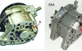 Замена генератора ВАЗ 2106 на генератор ВАЗ 2108