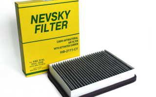 Салонный фильтр от ВАЗ 2110 на автомобили ВАЗ 2108 — 21099, ВАЗ 2113 — 2115