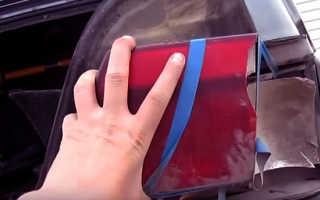 Замена заднего фонаря ВАЗ 2115 своими руками — пошаговая инструкция