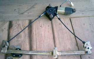 Стеклоподъемники ВАЗ 2110: снятие, установка, ремонт.