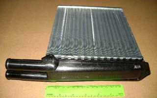 Лада Калина: самостоятельная замена радиатора печки