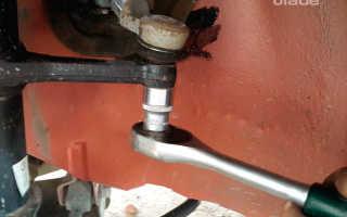 Замена амортизатора передней подвески на Ладе Гранта