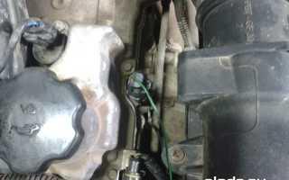 Меняем масляный датчик на Ладе Приора (мотор ВАЗ-21126)
