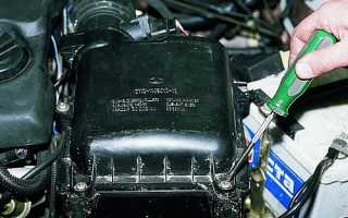 Замена воздушного фильтра на ВАЗ 2110, 2111, 2112