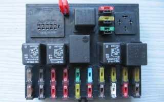 Блок предохранителей ВАЗ 2110 — меняем в своем гараже
