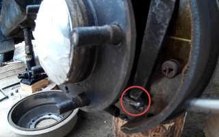 Регулировка ручного тормоза на Ладе 4х4: фото