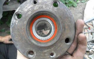 Замена заднего ступичного подшипника и тормозного барабана ВАЗ 2114