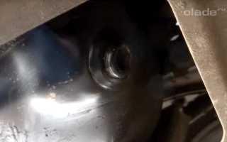 Замена масла и масляного фильтра на Ладе Гранта