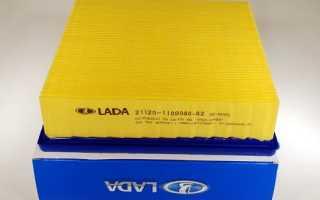 Как заменить воздушный фильтр на ВАЗ 2110?