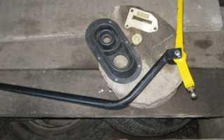 Замена кулисы ВАЗ 2110 в своем гараже
