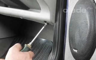 Замена вентилятора отопителя салона
