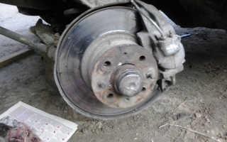 Замена подшипников передних колес ВАЗ