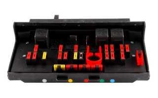 Монтажный блок ВАЗ 2107 (инжектор)
