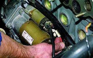 Если не крутит стартер ВАЗ 2110: инструкция