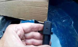 Замена датчика положения коленвала на Ладе 4×4: фото