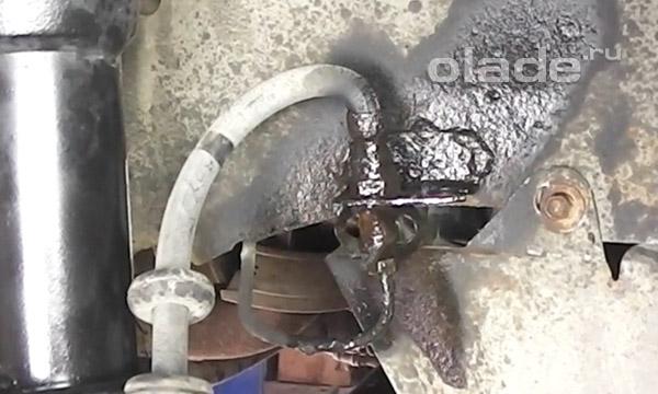 Штуцер тормозной трубки Лады