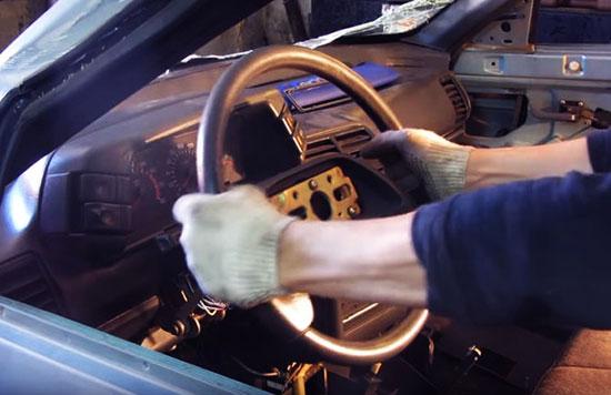 Как снять руль ВАЗ 2110