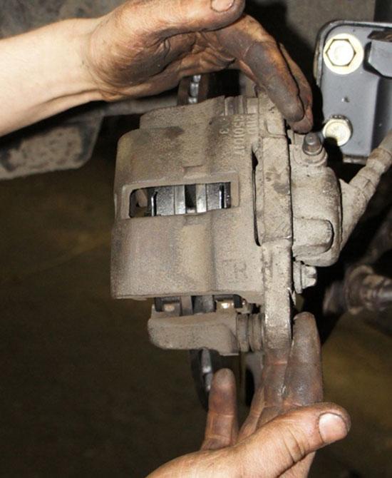 Замена тормозных колодок на ВАЗ 2115 инструкция
