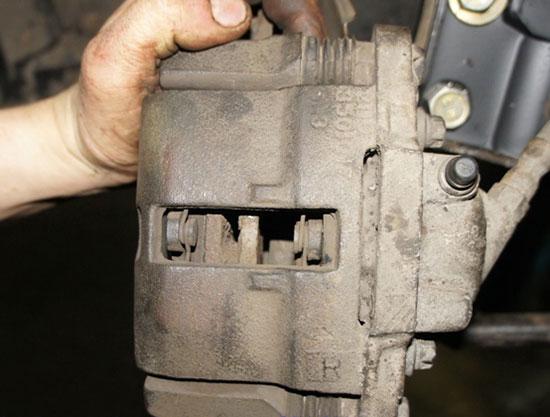 Как заменить тормозные колодки на ВАЗ 2115
