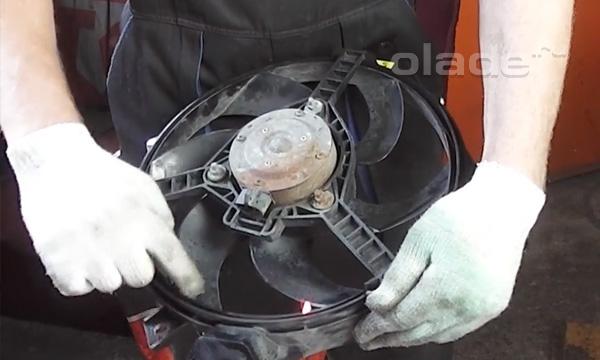 Проверка работоспособности вентилятора Лады