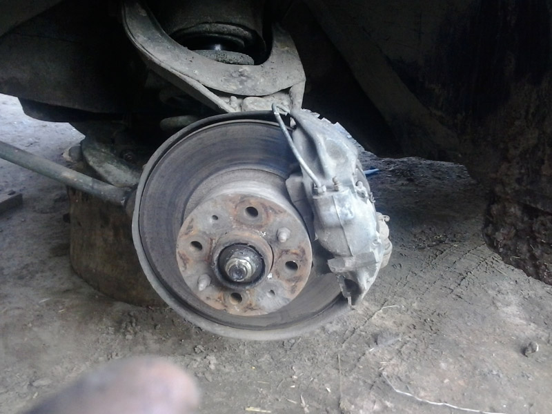 Все готово, можно устанавливать колесо