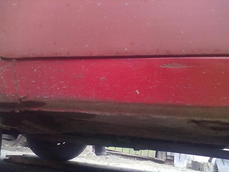 Кривой зазор на водительской двери