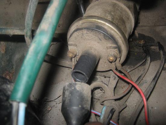 Замена катушки зажигания ВАЗ 2107