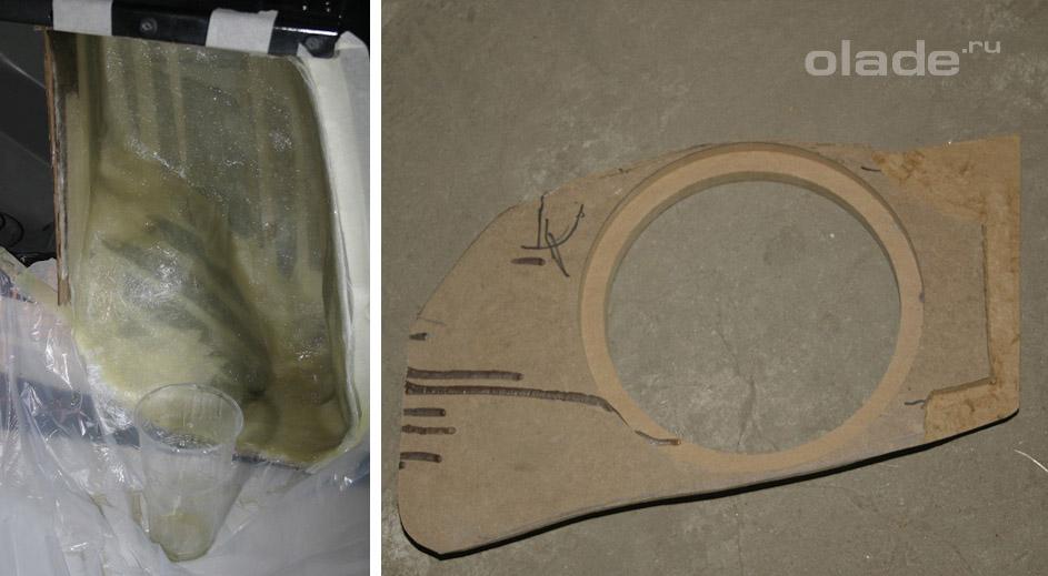 Установка сабвуфера в Ладу Х-Рей (фото 3)