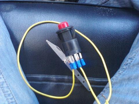 Кнопка аварийки для ВАЗ 2101