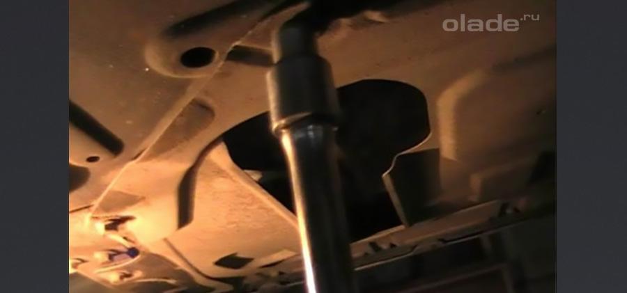 Замена масла в Ладе Весте своими руками. Фото. Видео (фото 5)